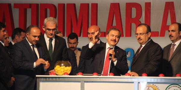 Bakan Veysel Eroğlu'ndan Konya'da seher vakti temel atma töreni