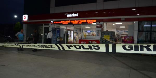 Tuzla'da benzin istasyonunda uzun namlulu silahlarla soygun