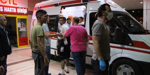 Amasya'da hastaneye kaldırılan 81 askerin tamamı taburcu edildi