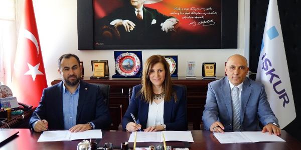 Kastamonu'da KOSGEB, İŞKUR ve KATSO arasında işbirliği protokolü