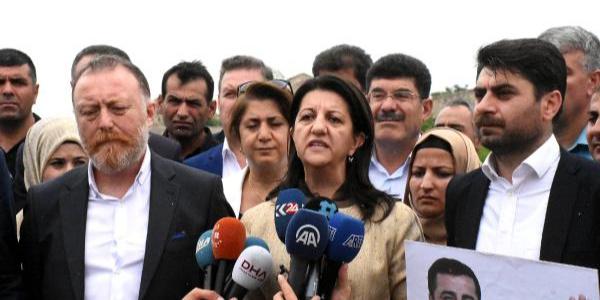 HDP'li eş başkanlar seçim startını Demirtaş'ın kaldığı cezaevi önünde verdi