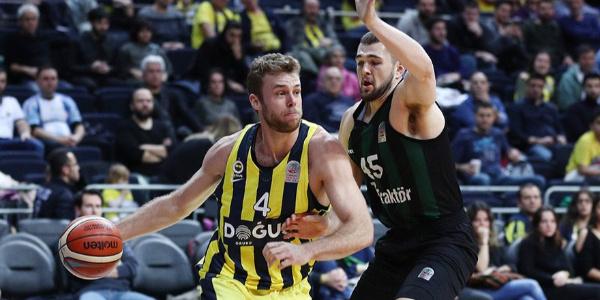 Sakarya BŞB'ni 77-54 mağlup eden Fenerbahçe Doğuş yarı finalde