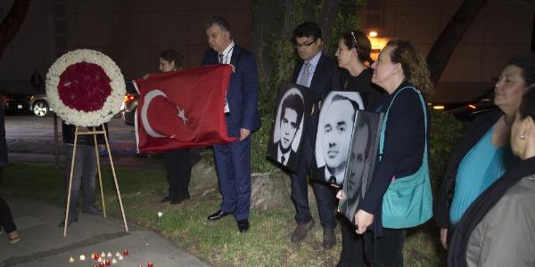 Eski Başkonsolos Arıkan'ı öldüren teröristin şartlı tahliyesine karşı imza kampanyası