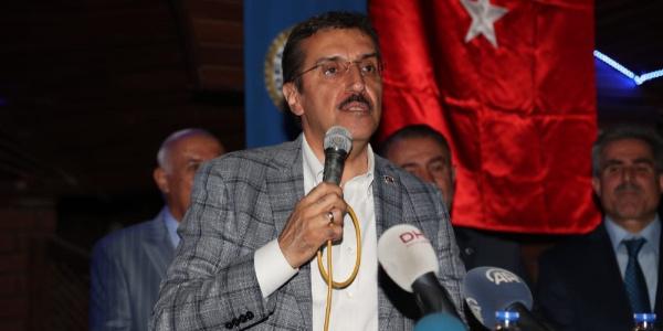 Bakan Bülent Tüfenkci'den Malatya'ya raybüs ve lisanslı depo müjdesi