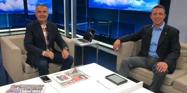 Fenerbahçe'de başkan adayı Ali Koç'un, Aykut Kocaman için taraftar çekincesi