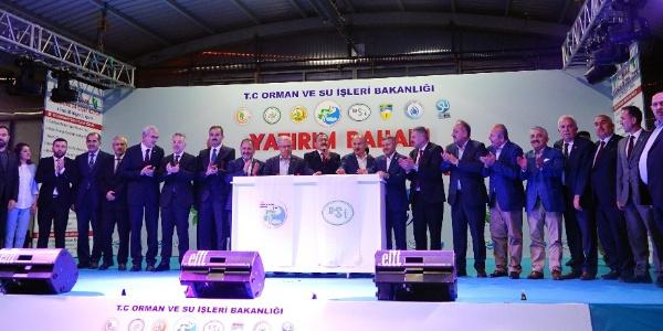 Kastamonu'da sahur vakti 188 milyon TL değerindeki 6 tesisin temeli atıldı