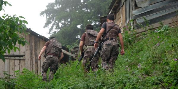 Giresun Güce'de JÖAK timleri ile teröristler arasında çatışma çıktı