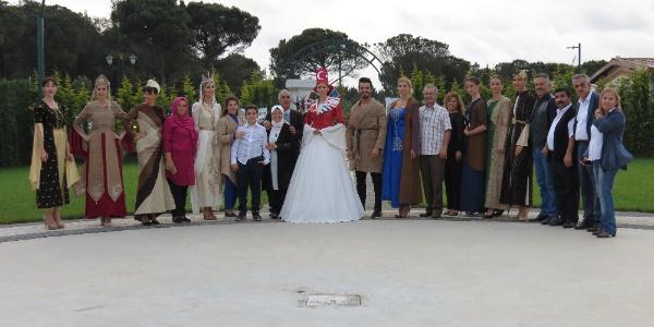 Erzurum ehramı İstanbul'da Liva Köşk Bahçesi'nde görücüye çıktı