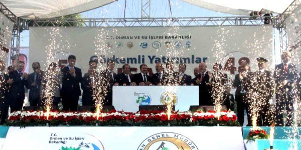 Bakan Veysel Eroğlu'ndan Ege'ye 226 milyon liralık 'Ramazan Hediyesi'