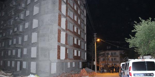 Sivas'ta kabası biten apartman inşaatının asansör boşluğu 13 yaşındaki çocuğun sonu oldu