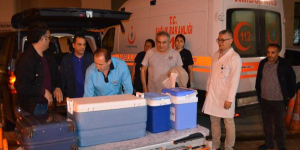 72 yaşındaki hastanın organları 3 hastaya umut oldu