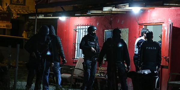 Ankara'da 64 ayrı adrese aynı anda operasyon: 36 gözaltı