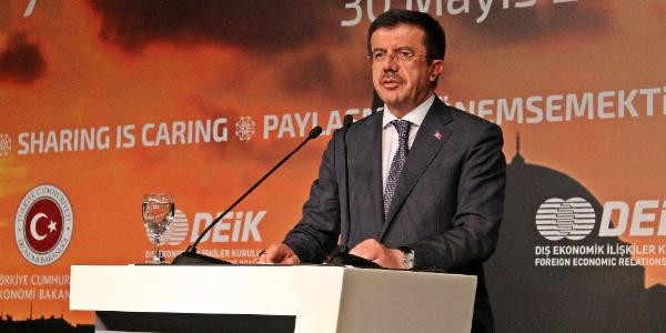 Bakan Zeybekci'den 2018'in ilk çeyreği için yüzde 7,5 büyüme tahmini