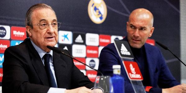 Zinedine Zidane Real Madrid'i bıraktı