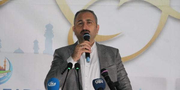 Adalet Bakanı Gül: Büyükelçiliğin taşınması Ortadoğu'ya atılmış bir bombadır