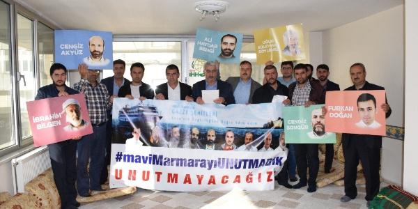 Bitlis'teki STK'lar İsrail'in Mavi Marmara katliamını unutmadı