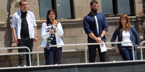 HDP'li Pervin Buldan 24 Haziran sonrası tüm mahkumlara özgürlük vaadetti
