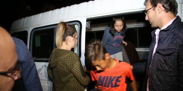 İstanbul'da 5 gündür aranan 3 çocuk Tokat'ta koruma altına alındı