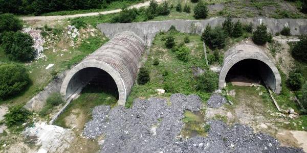1999 depreminde hasar gören 2 tüp tünel 19 yıldır atıl bekliyor