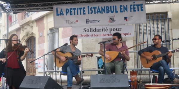 """Paris'in Faubourg St. Denis"""" sokağını """"Küçük İstanbul'a çevirdiler"""