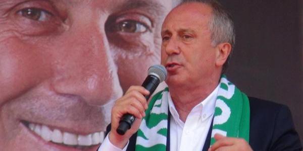 Muharrem İnce: Fenerbahçe nasıl değiştirdiyse biz de değiştireceğiz