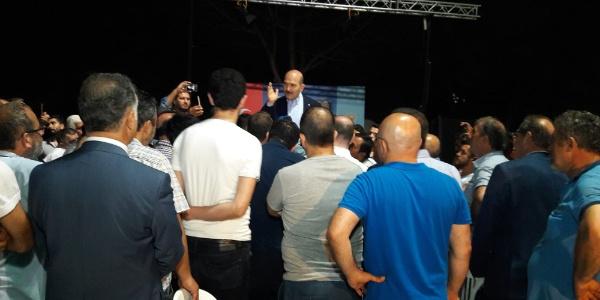 İçişleri Bakanı Süleyman Soylu taksicilere UBER'i anlattı