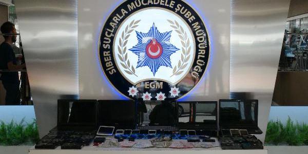 İstanbul'da operasyon yapılan bahis çetesinden 15 milyonluk vurgun