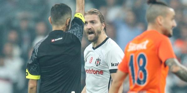 Beşiktaşlı Caner Erkin'in hakeme küfürle ilgili duruşması başladı