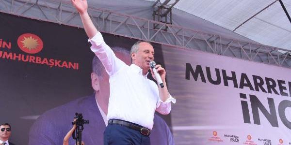 """Muharrem İnce'den Cumhurbaşkanı Erdoğan'a """"ötekileştirme"""" tepkisi"""