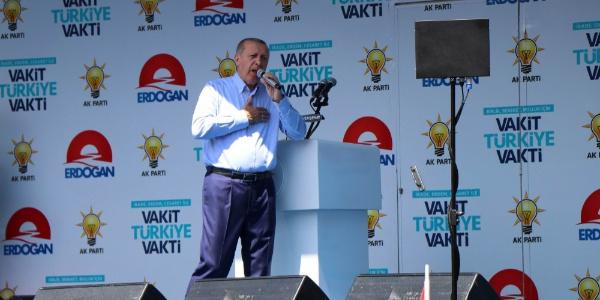 Cumhurbaşkanı Erdoğan'dan Nevşehir'de 30 bin kişilik miting
