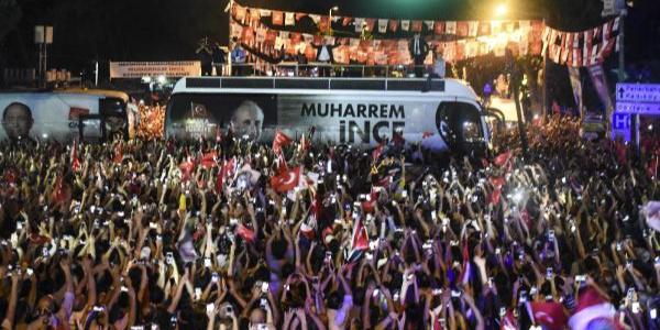 Muharrem İnce Kadıköy'de Cumhurbaşkanı Erdoğan'a meydan okudu
