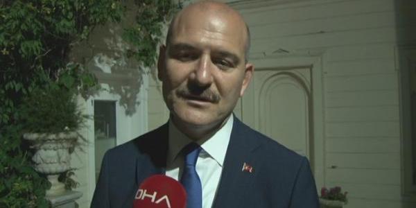 İçişleri Bakanı Süleyman Soylu'dan Demirören Ailesi'ne taziye ziyareti