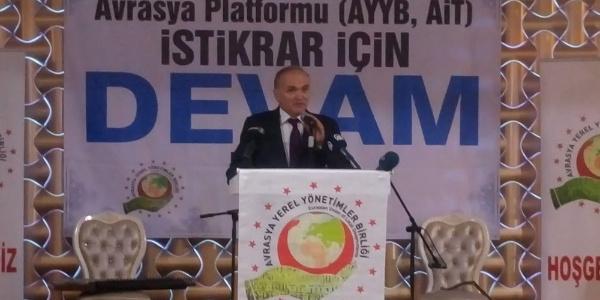 Bakan Faruk Özlü: Türkiye Avrasya coğrafyasının merkezidir