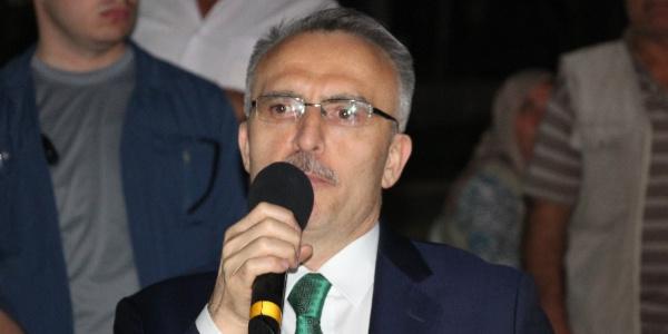 Maliye Bakanı Naci Ağbal'dan Sultandağı'na gümrük sözü
