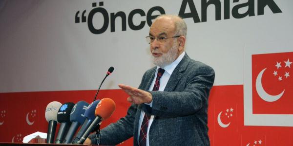 Saadet Partisi Lideri Temel Karamollaoğlu'ndan Gaziantep'te 'e-miting'