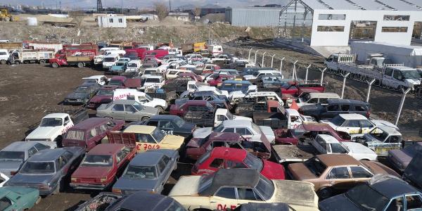 Hurdaya ayrılan araç sayısında rekor artış: 277 bin 835