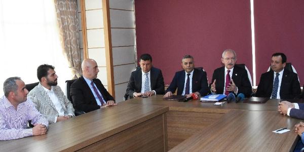 CHP lideri Kılıçdaroğlu Muharrem İnce'nin  yapacağı ilk iki icraatı açıkladı