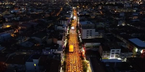 """Uşak'ta 30 bin kişilik """"Milli Birlik ve Kardeşlik İftarı"""""""