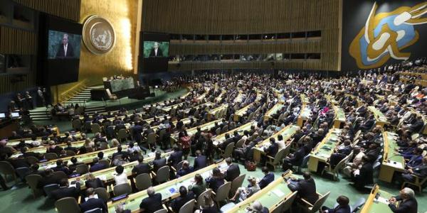 Türkiye'nin destek verdiği kritik Filistin tasarısı BM Genel Kurulu'nda