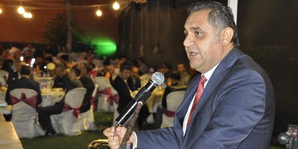 Gürün'deki iftarda MHP'li başkandan AK Parti teşkilatına veryansın