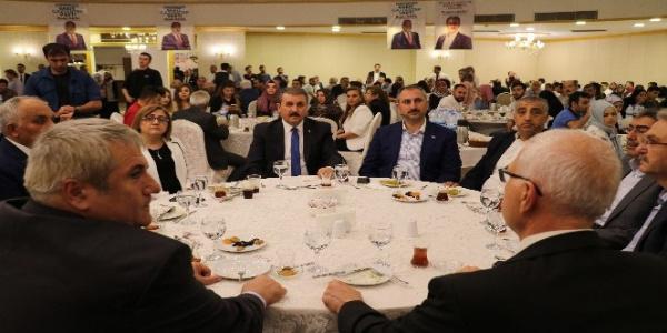 Gaziantep'te AK Parti ile BBP'liler iftarda buluştu