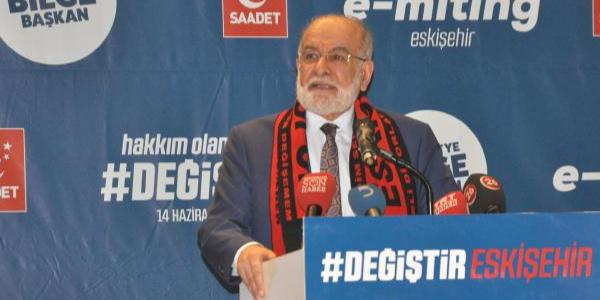 """Temel Karamollaoğlu hükumete """"Fenerbahçe Sendromu""""nu hatırlattı"""