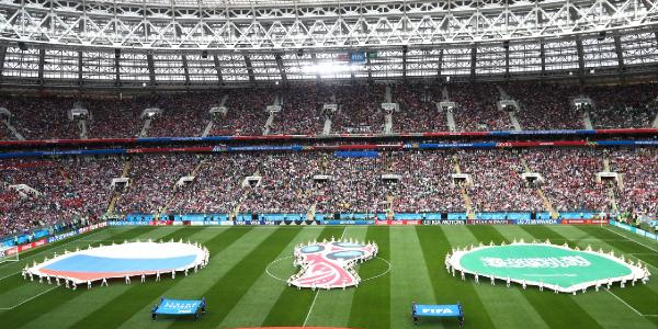 Dünya Kupası'nın açılışında Putin'den dünyaya sıcak mesaj