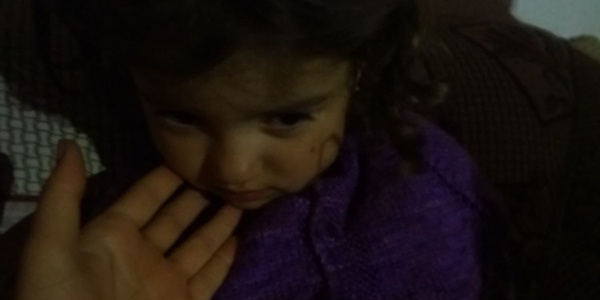 Bursa'da kayıp 3.5 yaşındaki kız ağaç altında uyurken bulundu