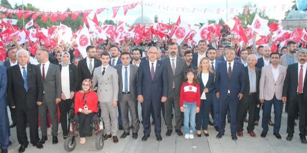 MHP'den Konya'da Mustafa Yıldızoğan'lı bayramlaşma