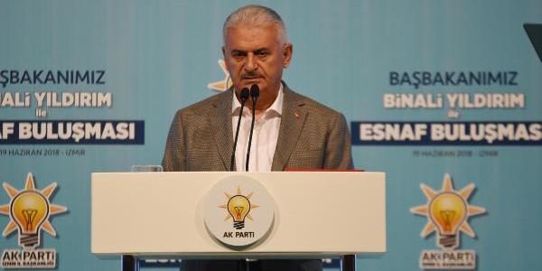 Başbakan Yıldırım'dan esnafa  yeni bir Perakende Kanunu sözü