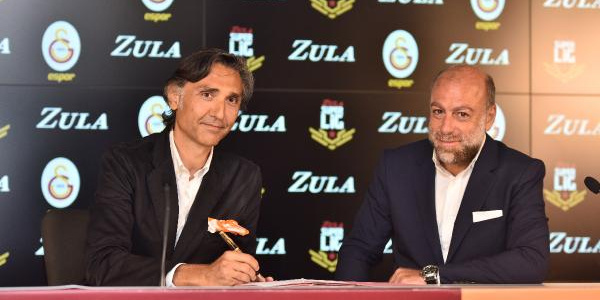 Galatasaray, Zula Süper Ligi için imzayı attı