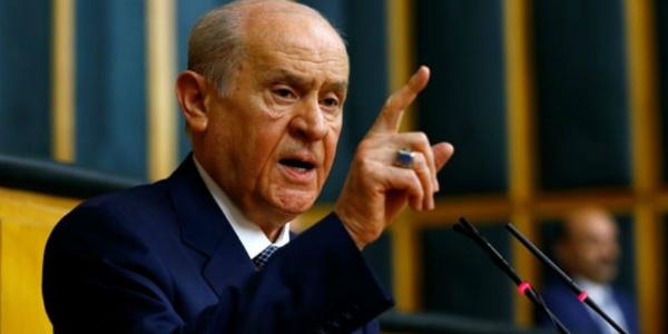 MHP Lideri lideri Devlet Bahçeli'den Millet İttifakı partilerine sert sözler
