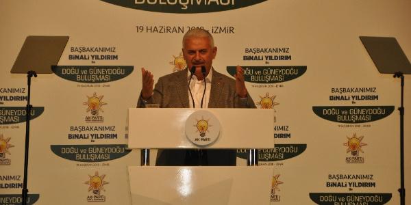 Başbakan Binali Yıldırım'dan İzmir'de Suriyelilerin dönüşü ile ilgili flaş açıklama