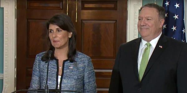 İsrail'i bahane eden ABD, BM İnsan Hakları Komisyonundan ayrılıyor